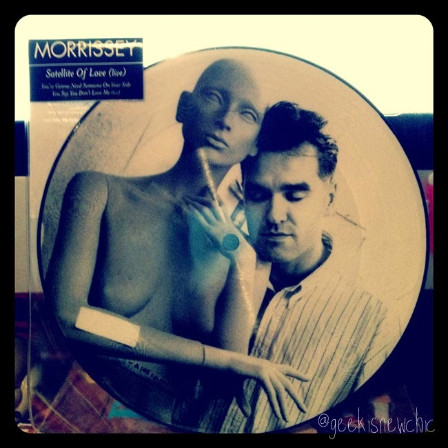 Morrissey Satellite of Love