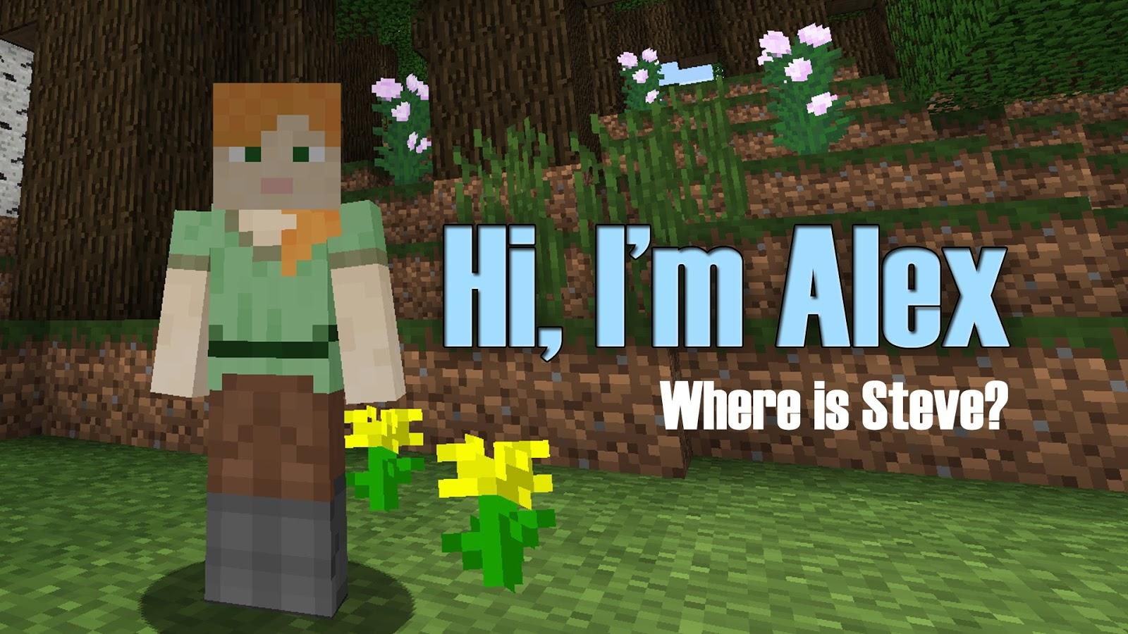 She S Fantastic Minecraft Overworld Alex