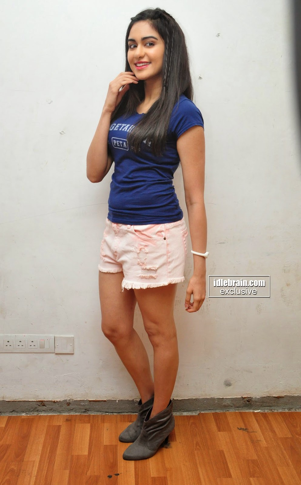 Adah sharma Pictures at Peta event