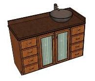 Wardworks google sketchup 3d warehouse contributions for Sketchup bathroom sink