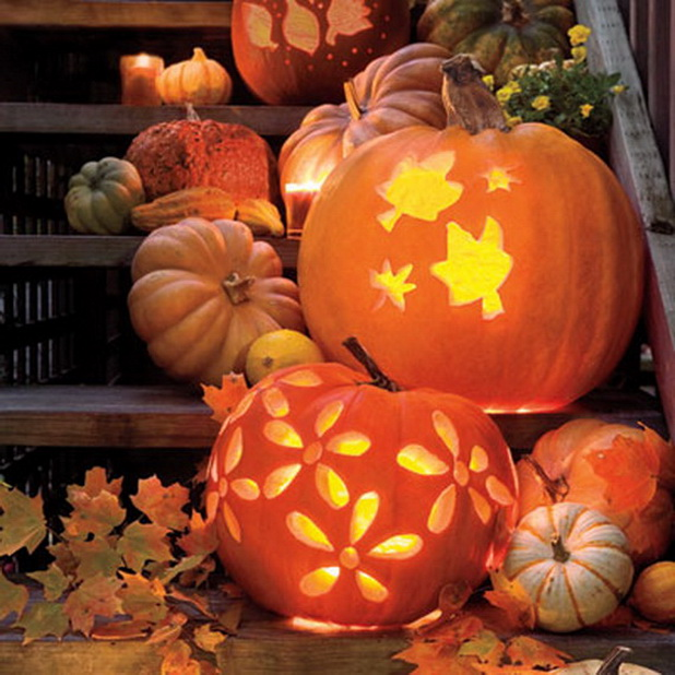 hallowen pumpkins decoration