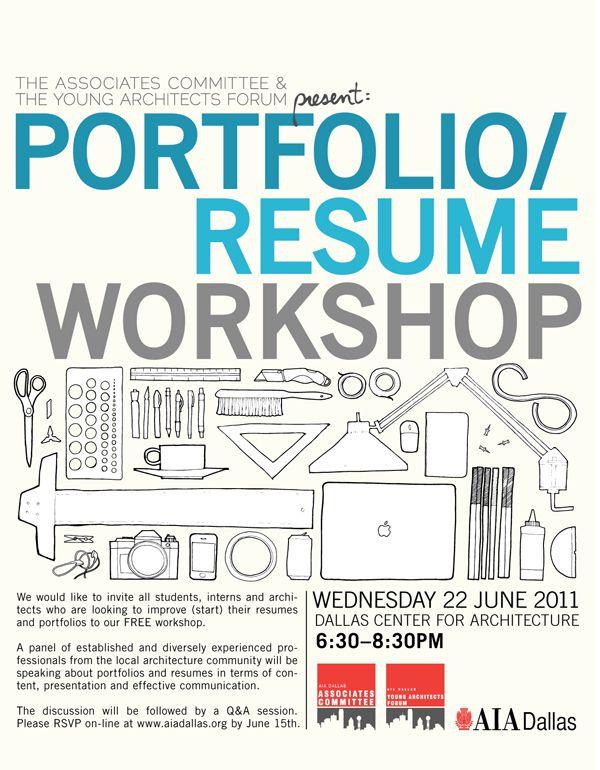 aia dallas portfolioresume workshop