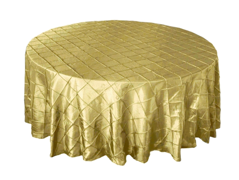 Table linens are integral to any event or wedding reception