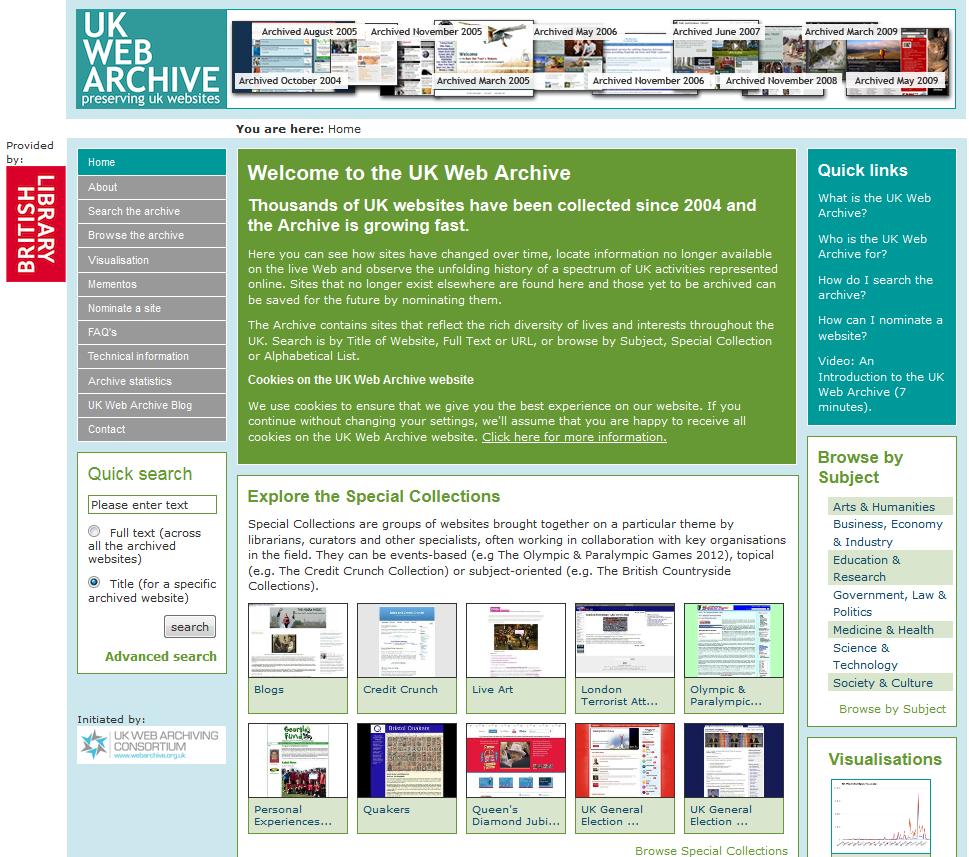 UK Web Archive