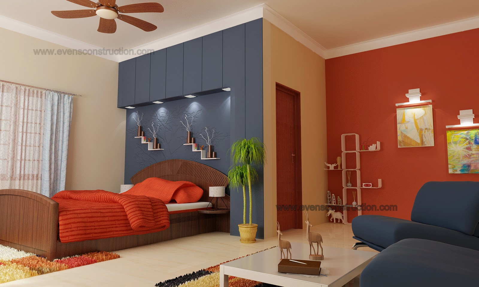 First floor bedroom design home for Original home designs
