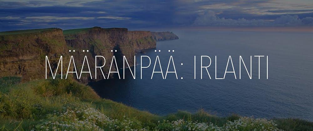 Määränpää: Irlanti