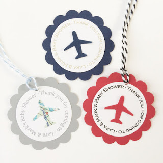 Airplane Party Gift Tags