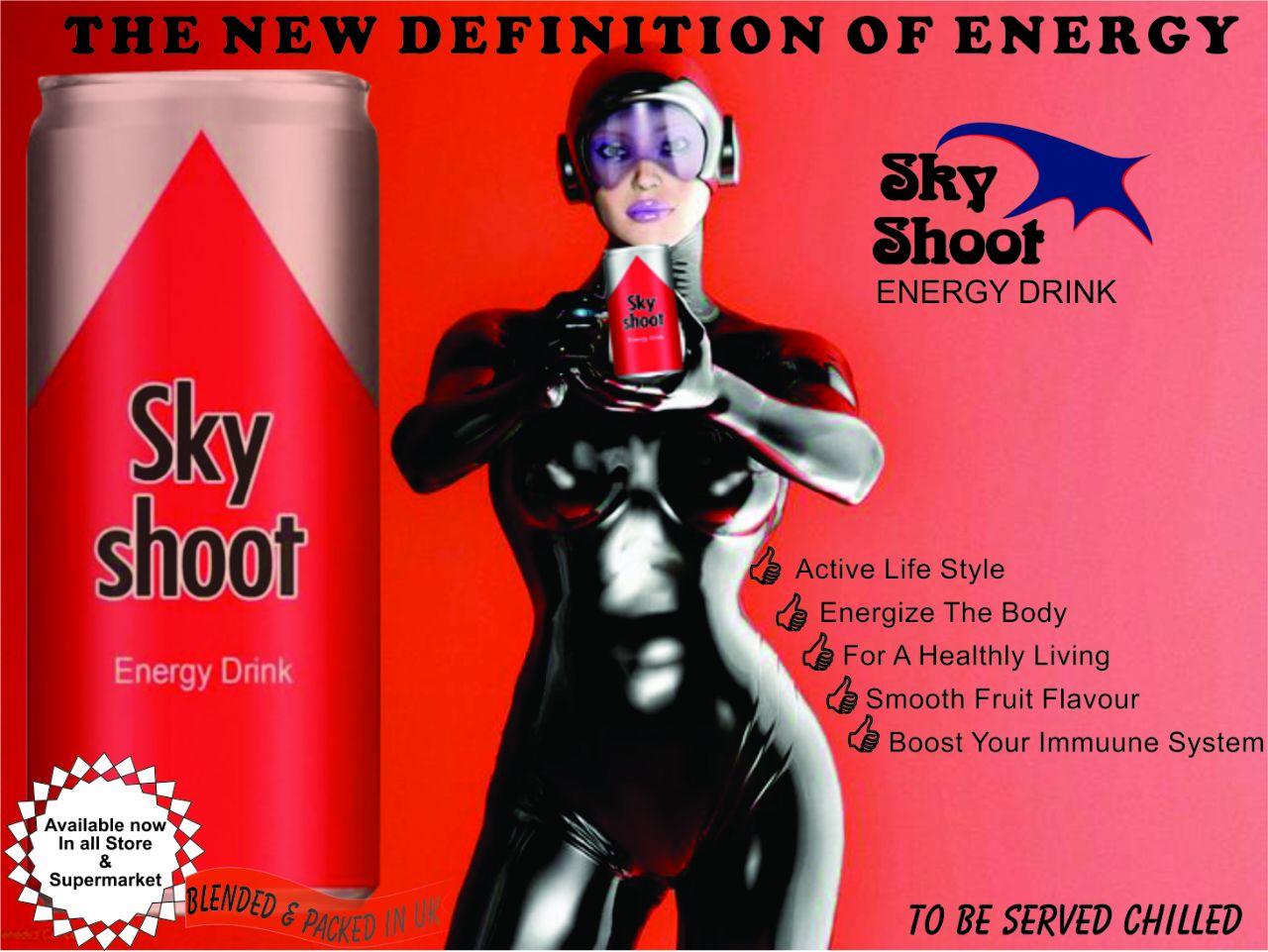 SkyShoot Energy Drink Trending #BAN_9ja