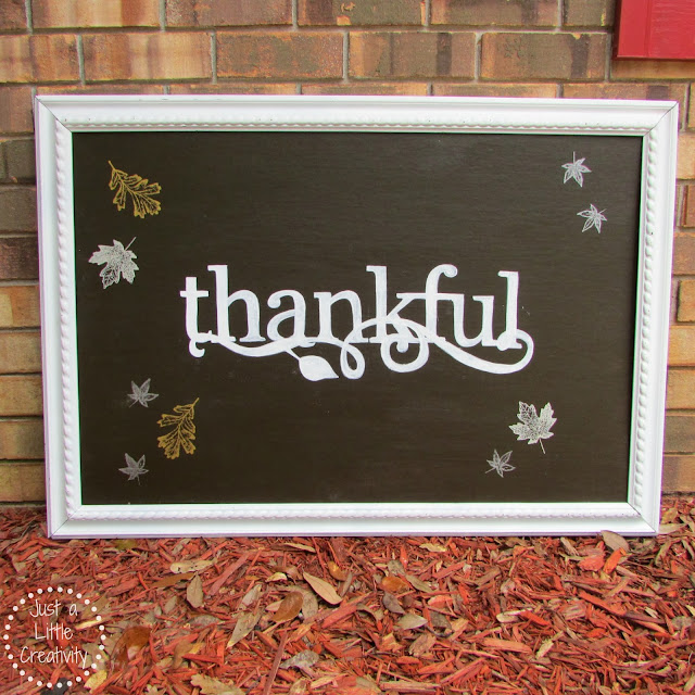 Typography Thankful sign tutorial, how to make a Thanksgiving thankful sign