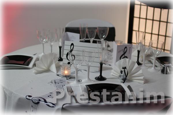 Ma d coration de mariage d coration mariage sur la musique for Article decoration mariage