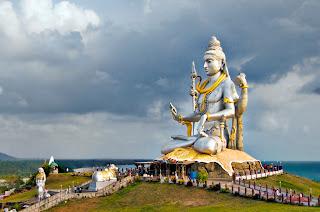A Beatific Shiva at Murudeshwar, Karnataka, India
