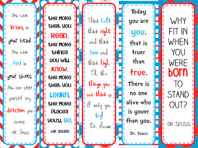 photograph relating to Dr Seuss Printable Bookmarks identified as Smithville Fundamental Library: Notion of the Working day