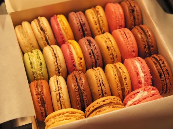 glutenfreie Macarons bei Ladurée