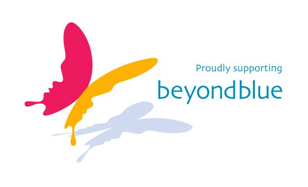 100% of money raised goes to beyondblue
