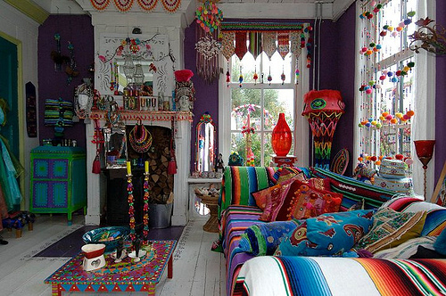 Bohemian Valhalla Eclectic Gipsyland A Colorful Life