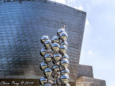 Anish Kapoor's 'Reflectorama', Guggenheim, Bilbao