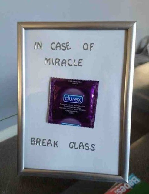 In Case of Miracle - break glass