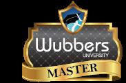 I'm a Wubbers U. Master Instructor!