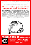 Affiche Projection Sylvia Donis