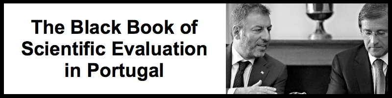 The Black Book of Scientific Evaluation in Portugal