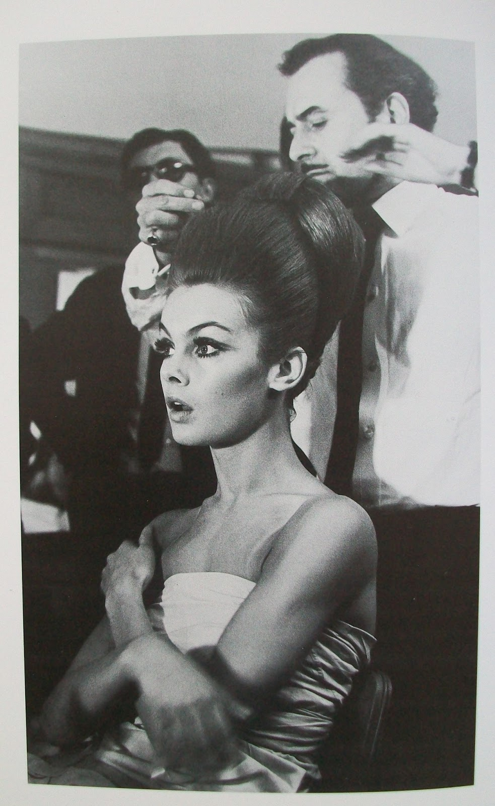 Shrimpton Being Styled By Hairstylist Alexandre As Reproduced In Radical Rags Bailey Has Said Of The Shrimps US Magazine Appearances What They Did To
