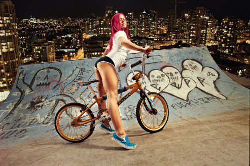 bmx and girl wallpaper - photo #15