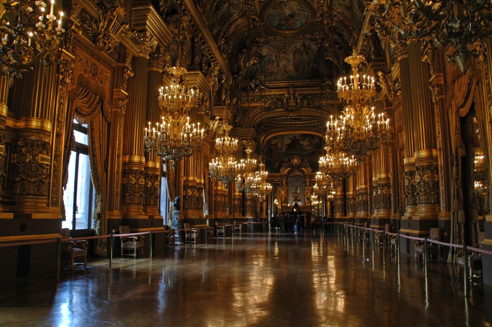 L Opéra Garnier Grand Foyer De L Opera : Paris and beyond palais garnier the grand foyer