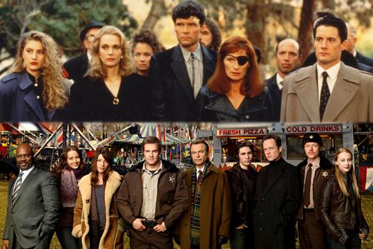 Algunos miembros del reparto de Twin Peaks y de Happy Town - Cine de Escritor