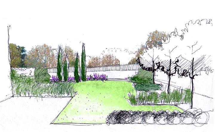 Missjardin dibujar jardines ideas for Jardin dibujo