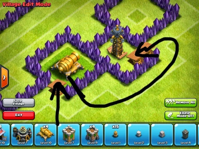 Funnelling Clash of Clans