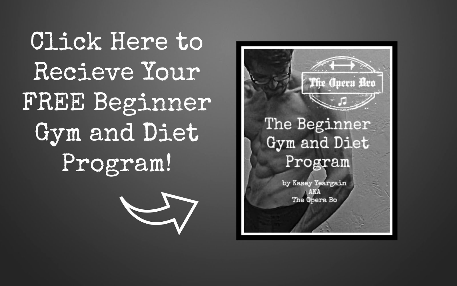 The Free Beginner Gym and Diet Program