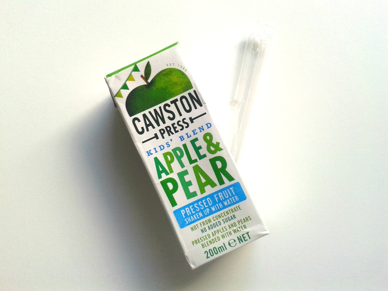 Cawston Press Kids' Blend Apple & Pear Pressed Fruit August Degustabox Review