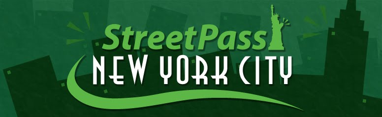StreetPass New York City Homepage!