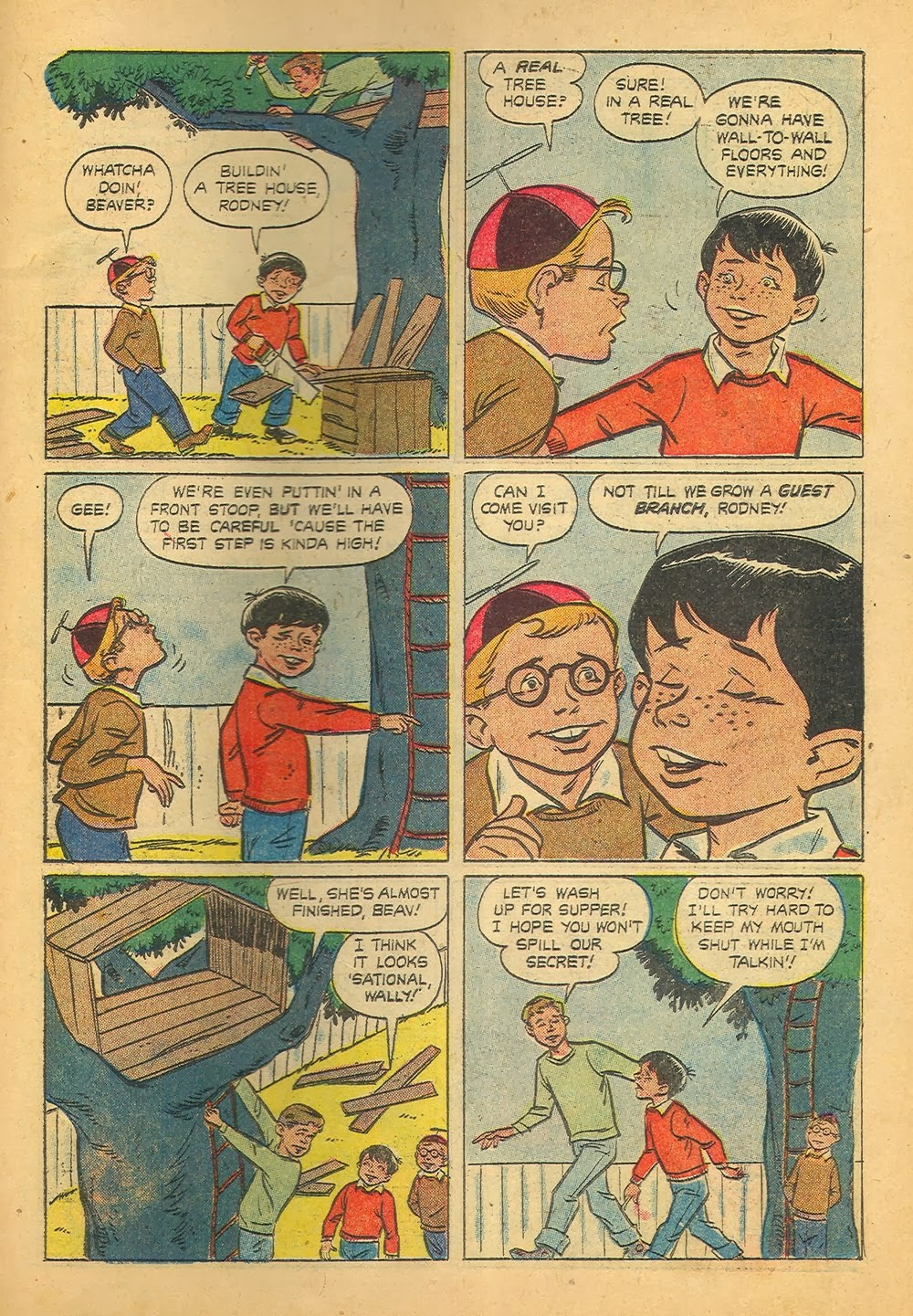 Saved From The Paper Drive: Comic Book Short Story~ Leave It To ...