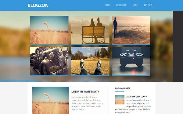 Awesome Premium Blogger Templates 2014