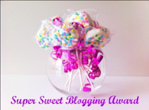 PREMIO SUPER SWEET BLOGGING AWARD