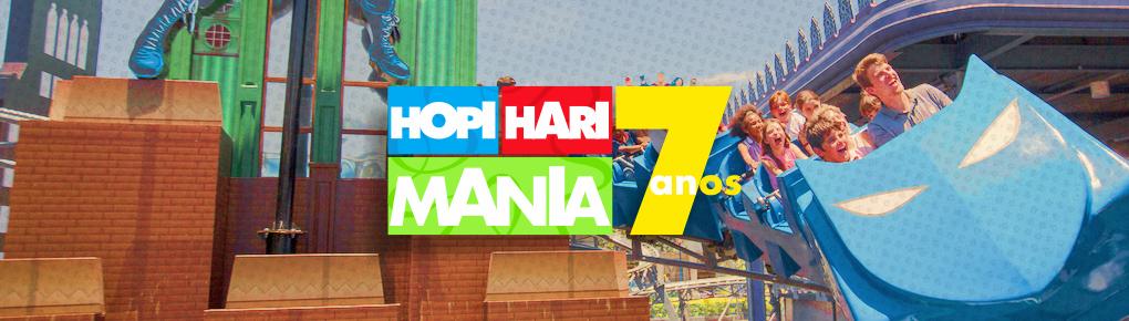 Hopi Hari Mania - 7 anos