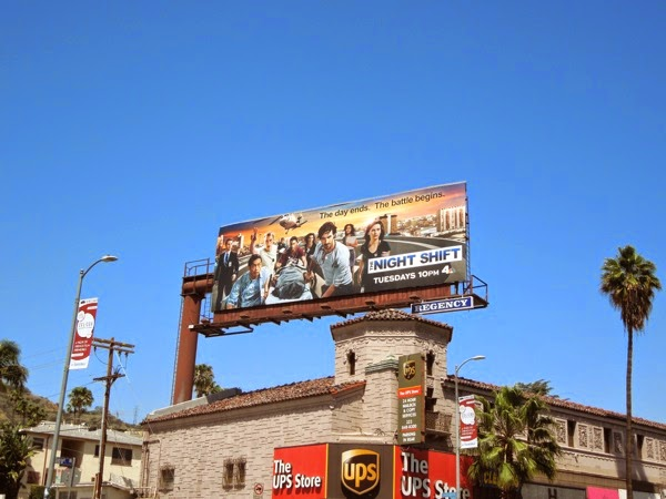 Night Shift season 1 billboard