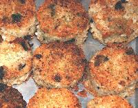 Fried Zucchini Cakes