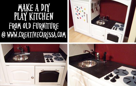 Beautiful How To Make A DIY Play Kitchen Part 3: How To Make The Sink, Countertop And  Stove   Creative Green Living