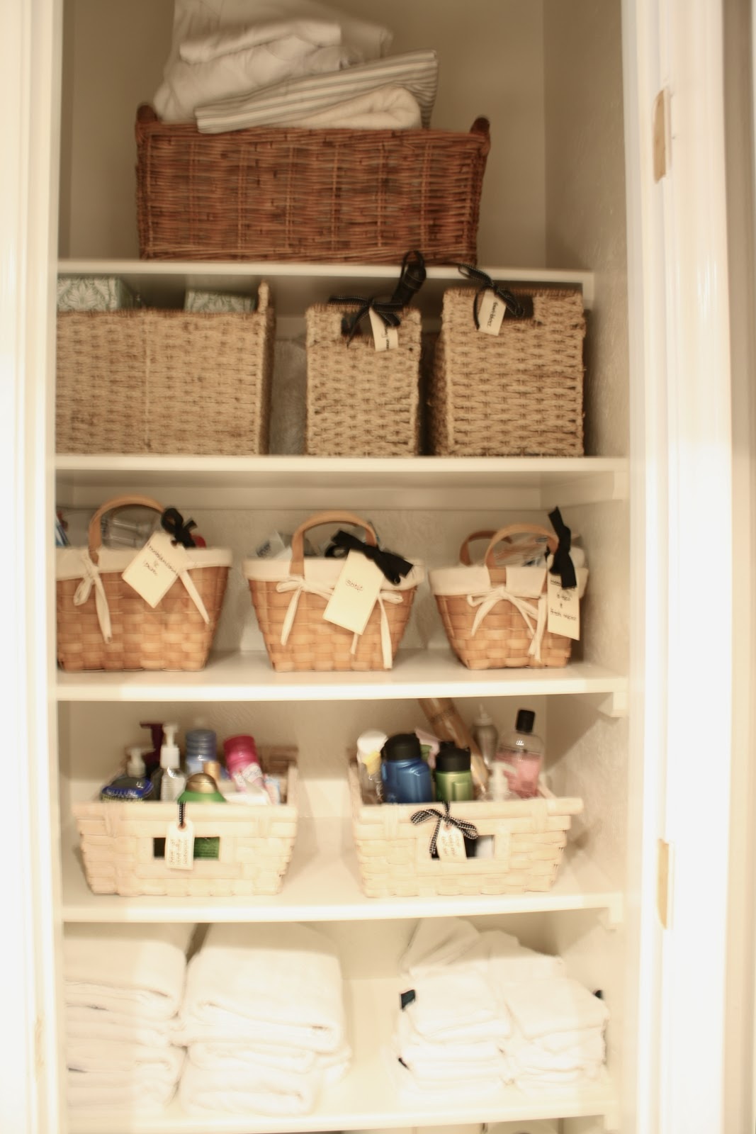 the little cottage on the pond...: Turning a closet into open ...