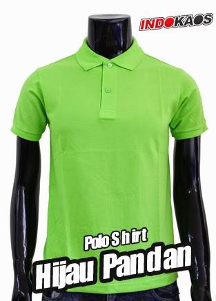 Polo Shirt Polos Hijau Pandan