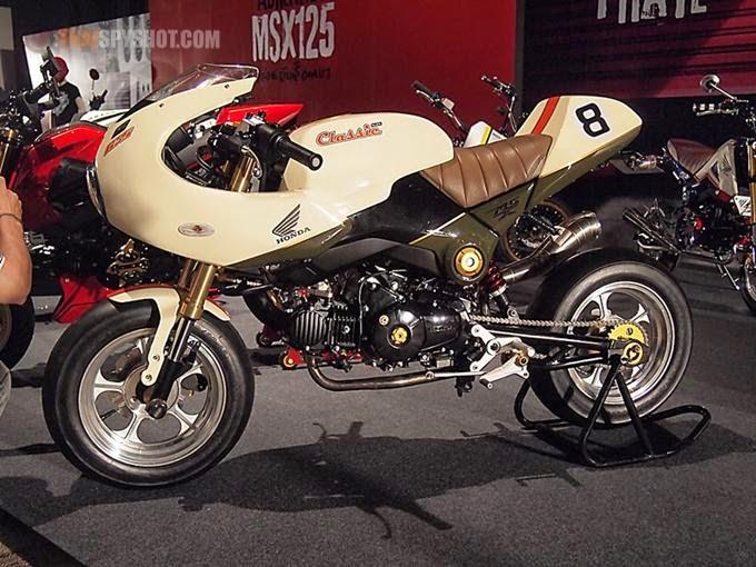 Honda MSX 125 Cafe Racer