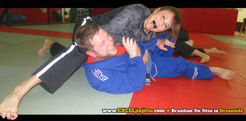 Oceanside Jiu Jitsu fun for men, women and kids