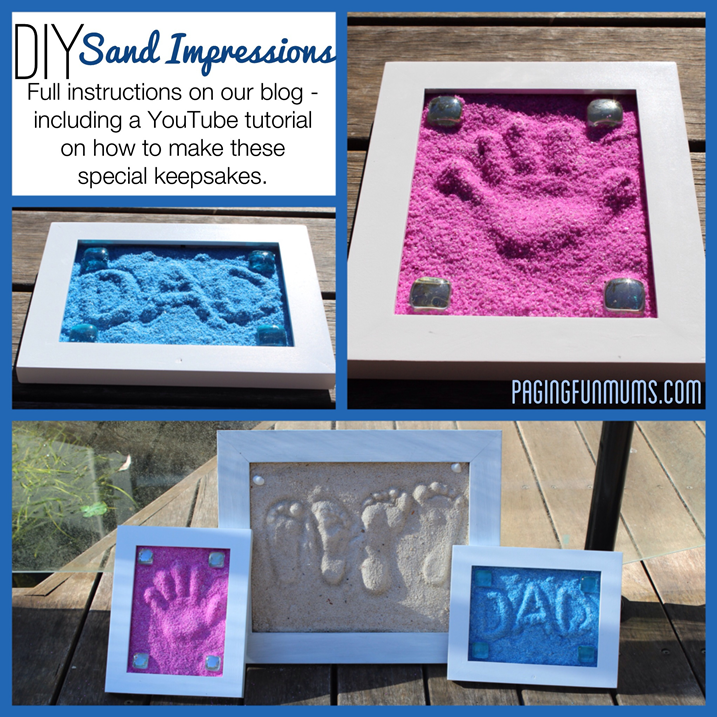 DIY Sand Impressions