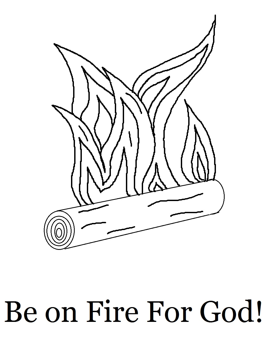 fire coloring page wildfire free colouring pages
