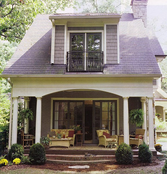 Design dump house exterior thinking about shed dormers for Houses with dormers and front porch