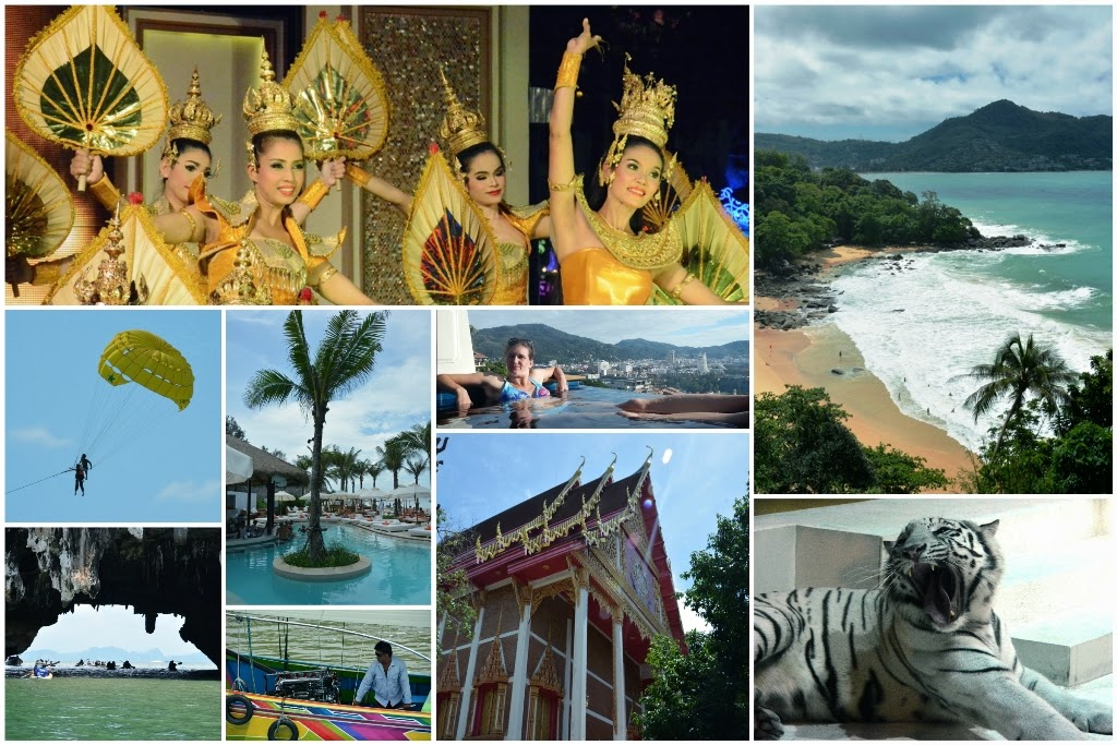 Thailand collage