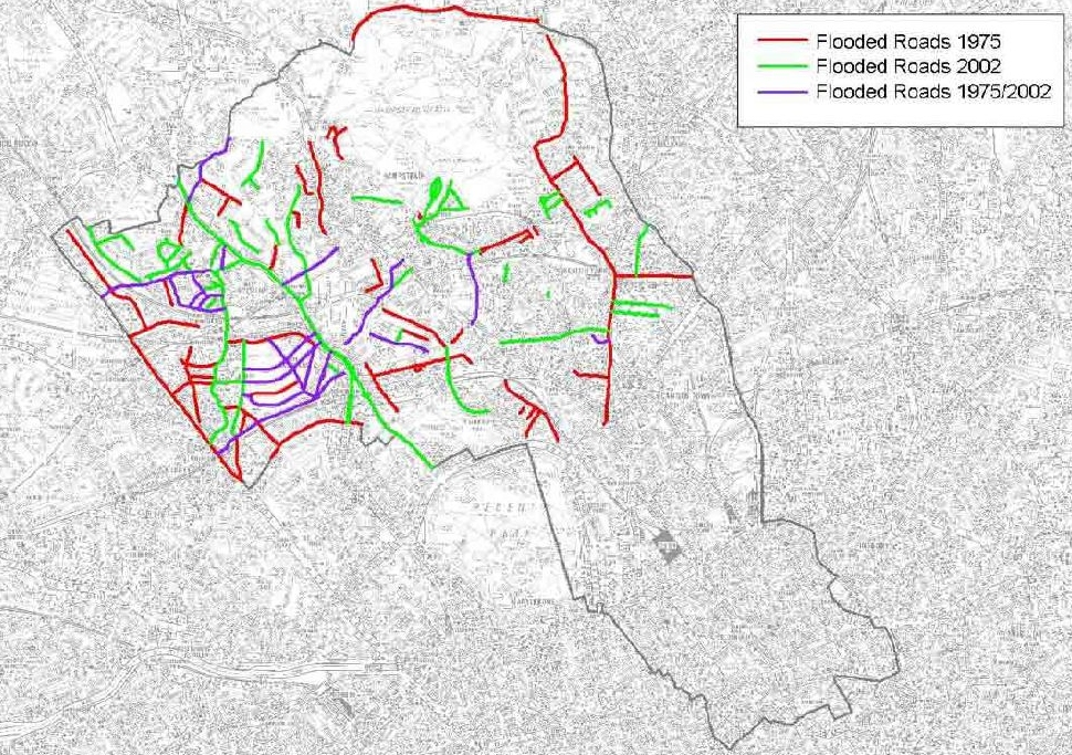 West Hampstead Life Your Views On Local Flood Risk Yes It Exists - Flooded roads map