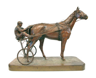 An American Trotter. Oro olímpico en escultura 1912